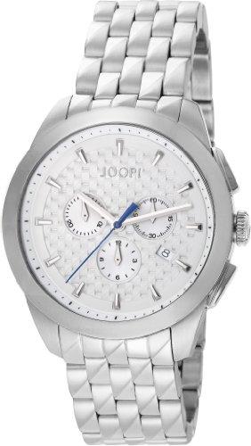 Joop! Legend Chrono Swiss Made JP101071S01 - Reloj para hombres, correa de acero inoxidable color plateado