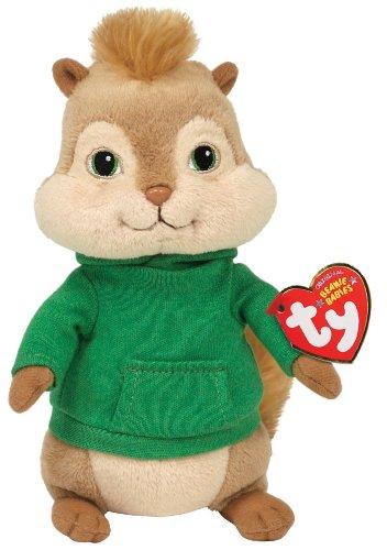 Imagen 1 de Ty peluche - Alvin and the Chipmunks peluche - Theodore 17.cm