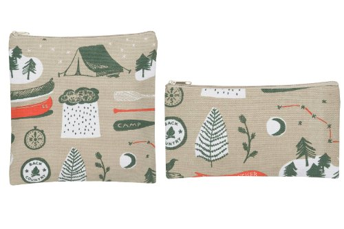 Now Designs Snack Bags, Summer Camp, Set of 2 - 1