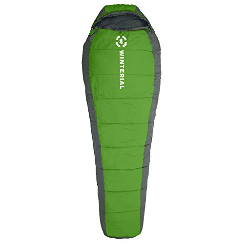 Winterial-15-50-degree-Mummy-Sleeping-Bag-Adult-Size-Camping-Backpacking-Hiking