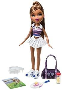 Amazon.com: Bratz: Sportz Tennis Ace Fianna by MGA: Toys & Games