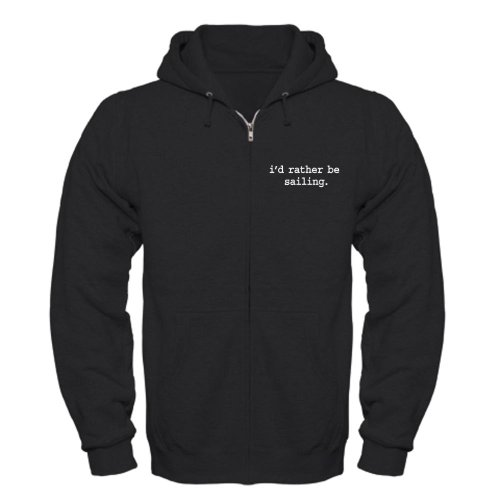 CafePress-id-rather-be-sailing-Zip-Hoodie-dark-Zip-Hoodie-Classic-Hooded-Sweatshirt-with-Metal-Zipper