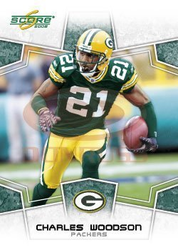 2008 Score Football Card # 114 Charles Woodson CB - Green Bay Packers - NFL Trading Card