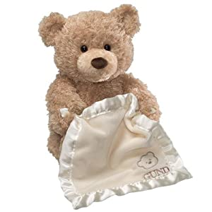 Gund Peek A Boo Bear-Animated With Voice