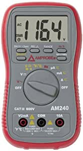 Amprobe AM-240 Autoranging Multimeter with Temperature