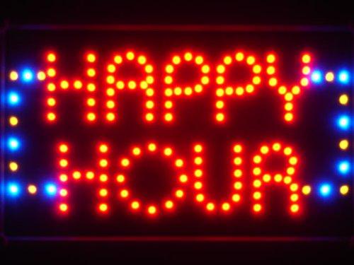 Adv Pro Led036-R Happy Hour Bar Beer Led Neon Light Sign