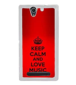 ifasho Designer Phone Back Case Cover Sony Xperia C4 Dual :: Sony Xperia C4 Dual E5333 E5343 E5363 ( Stay High Keep Tripping Quotes )