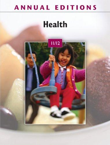 Annual Editions: Health 11/12