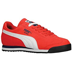 Puma - Mens Roma Sl Nbk 2 Shoes, Size: 8 D(M) US, Color: High Risk Red