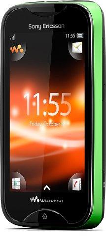 Sony Ericsson Mix Walkman Smartphone (7,6 cm (3,0 Zoll) Display, Touchscreen, 3,15 Megapixel Kamera) grün/schwarz