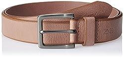 Nautica Men's Leather Belt (11NUE2X043TAN_Tan) (8907259557533)