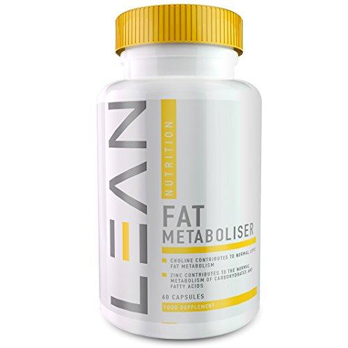 LEAN Nutrition Fat Metaboliser - miglior bruciagrassi- forti pillole dimagranti-60 capsule