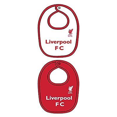 Liverpool FC Authentic 2 Pack Baby Bibs 15/16 season