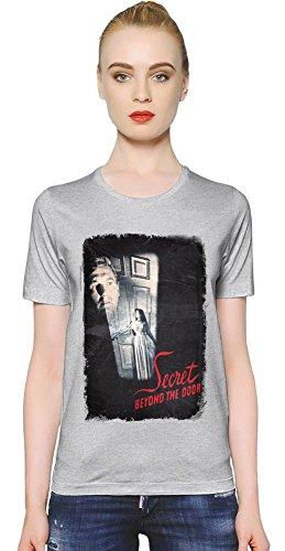 Secret Beyond The Door Black Death T-shirt donna Women T-Shirt Girl Ladies Stylish Fashion Fit Custom Apparel By Slick Stuff Medium