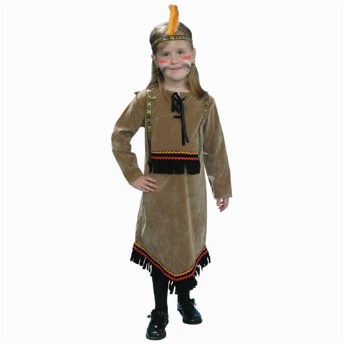 Deluxe Indian Girl Costume Set - Large 12-14