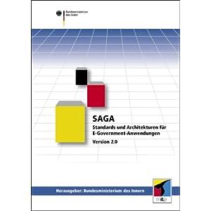 eBook Cover für  SAGA 2 0 Standards und Architekturen f uuml r E Gouverment Anwendungen