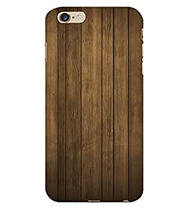 Classic Wood Design 3D Hard Polycarbonate Designer Back Case Cover for Apple iPhone 6