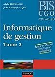 echange, troc Alain Haussaire, Jean-Philippe Pujol - Informatique de gestion, tome 2 - Processus 10 : Manuel