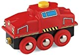 BRIO 33235 Wooden Railway System: Push & Play Switching Engine