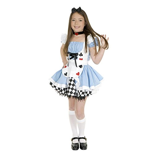 Alice Girls Medium Size 8-10 Halloween Costume