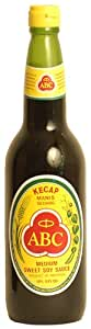 ABC Indonesian Medium Sweet Soy Sauce (Pack of 2)