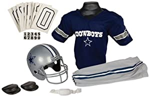 NFL Dallas Cowboys Boy's Uniform Set, Medium