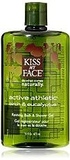 Kiss My Face Active Athletic Birch & Eucalyptus, Reviving Bath & Shower Gel, 16-Ounce…