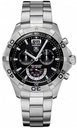 TAG Heuer Men's CAF101A.BA0821 Aquaracer Chronograph Grand-Date Quartz Watch