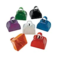 Assorted School Color Cowbells (1 doz…