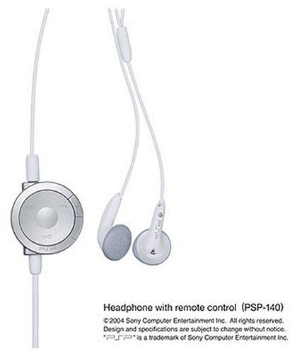 PSP-only headphones with remote control (PSP-1000 series only) (PSP-140 (W)) psp бу в спб