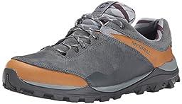 Merrell Men\'s Fraxion Waterproof Hiking Shoe, Brown Sugar, 9.5 M US