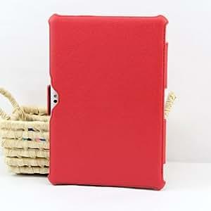 IVSO - Etui de protection smart cover pour Samsung Galaxy TAB 2 P5100 P5110 - Couleur : Rouge