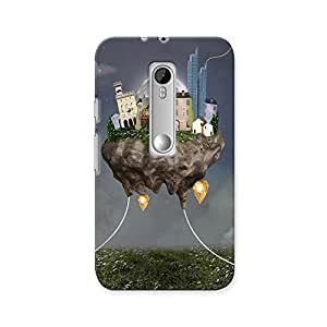ArtzFolio Flying Town : Motorola Moto G3 Matte Polycarbonate ORIGINAL BRANDED Mobile Cell Phone Protective BACK CASE COVER Protector : BEST DESIGNER Hard Shockproof Scratch-Proof Accessories