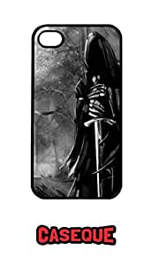Caseque Nazgul Lord Of The Rings Back Case Cover For Apple iPhone 4/4S