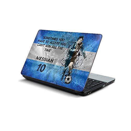 ezyPRNT Lionel Messi 'Messiah' Football Player Laptop Skin Decal