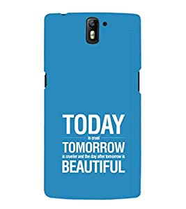 EPICCASE Future is success Mobile Back Case Cover For OnePlus One (Designer Case)