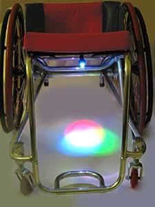 Wheelchair safety lights