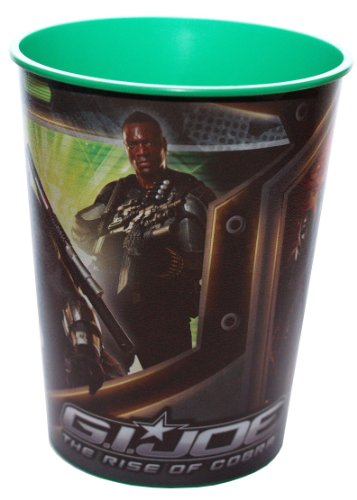 G.I. Joe the Rise of Cobra Cup - Green - 1
