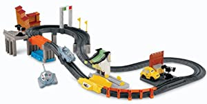 Fisher-Price GeoTrax Disney/Pixar Cars 2 World Grand Prix RC Set