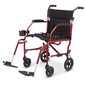 Medline Freedom Chair, Red