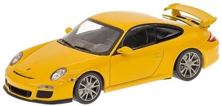 Minichamps 400068021 - Porsche 911 GT3 (997 II), Maßstab: 1:43, gelb