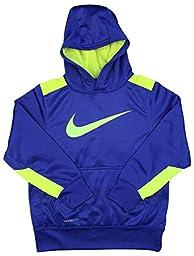 Nike Boys\' KO 3.0 Over-The-Head Training Hoodie-Game Royal-Small