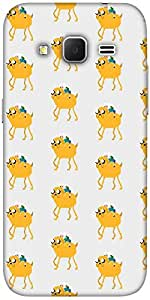 Snoogg Pixel Adventure Solid Snap On - Back Cover All Around Protection For S...