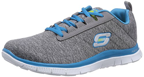 Skechers Flex Appeal Next Generation, Damen Sneakers, Grau (GYBL), 39 EU