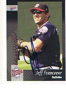 JEFF FRANCOEUR 2003 ROME BRAVES AUTOGRAPHED CARD !! by Bud
