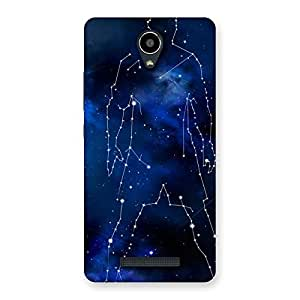 Delighted Star Man Multicolor Back Case Cover for Redmi Note 2