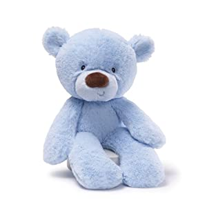 "Gund Lil Fuzzy 14"" Plush, Blue by Gund"