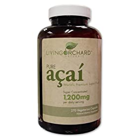 Acai Pure-Acai Cleanse Weightloss 1,200 Formula, 270ct
