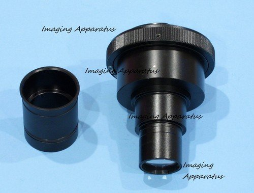 Olympus Dslr Slr Camera Lens Adapter For C-Mount Trinocular Microscope Phototube