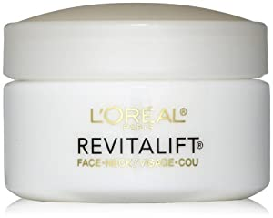 L #39;Oreal Paris Advanced RevitaLift Face and Neck Day Cream, 1.7 Ounce - 3 Pack